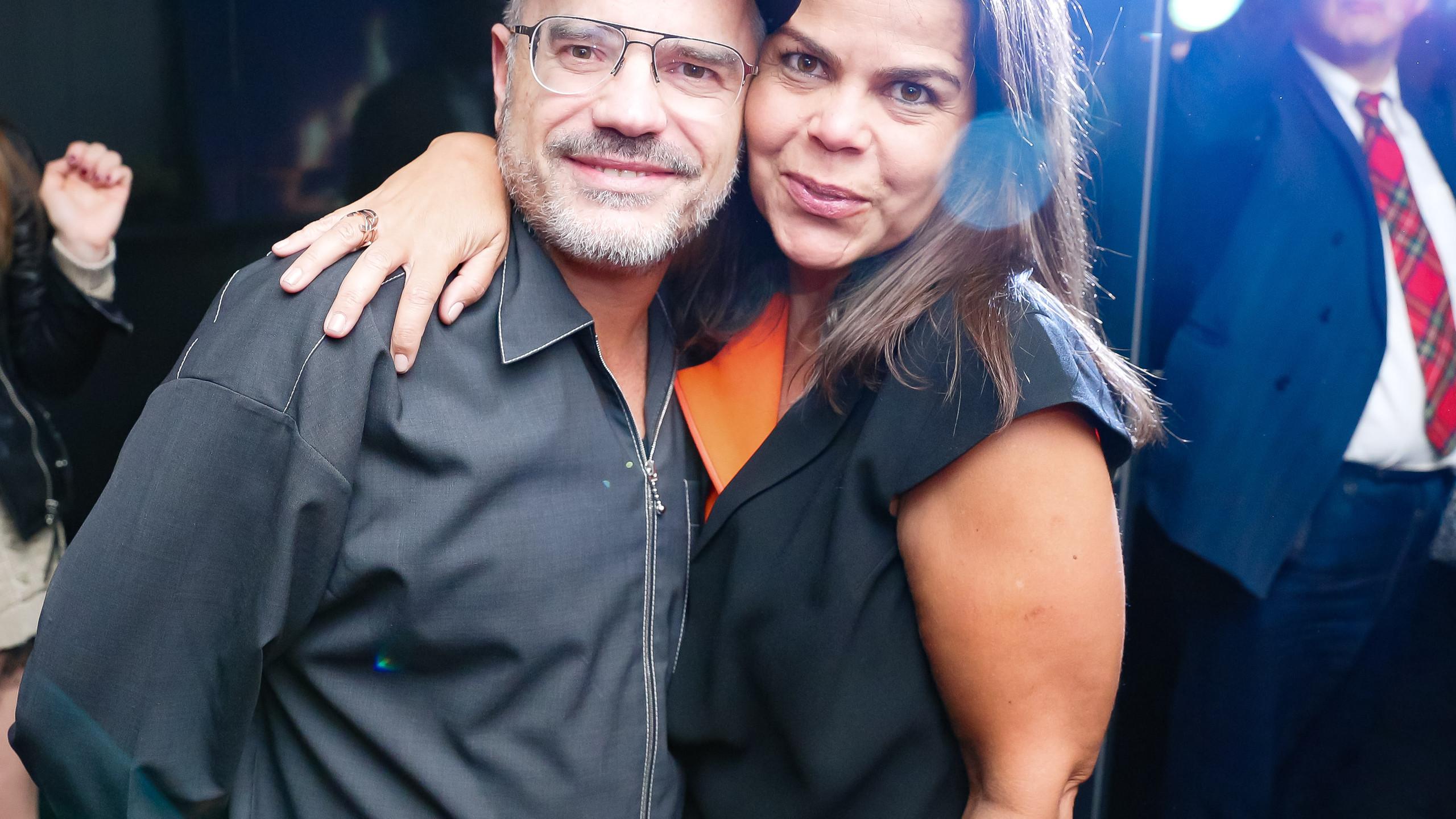 Giovanni Bianco e Daniela Falcão