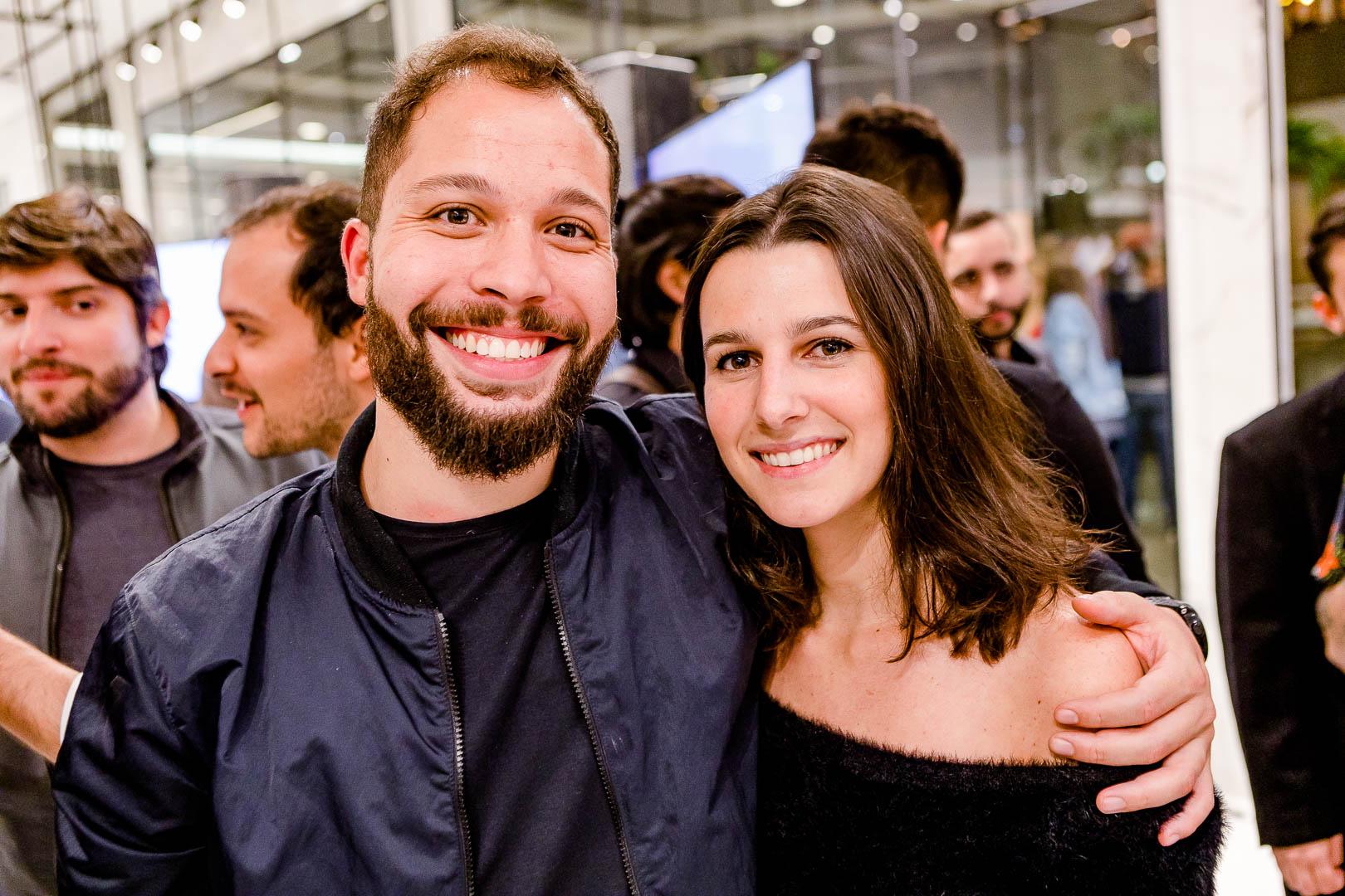 Gabriel Zandomenico e Patricia Tremblais