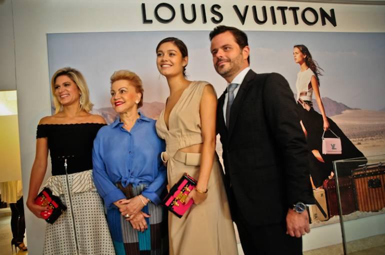 Abertura do Trunk Show LV - Juliana e Lilia Santos, Sophie Charlotte e Alexandre Frota