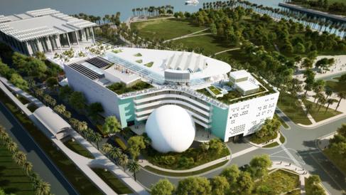 Inaugurado o novo Museu de Ciências de Miami, um dos mais sofisticados dos EUA