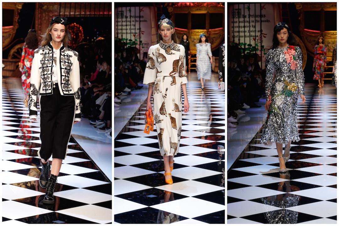 Passarela de Dolce&Gabbana FW2017