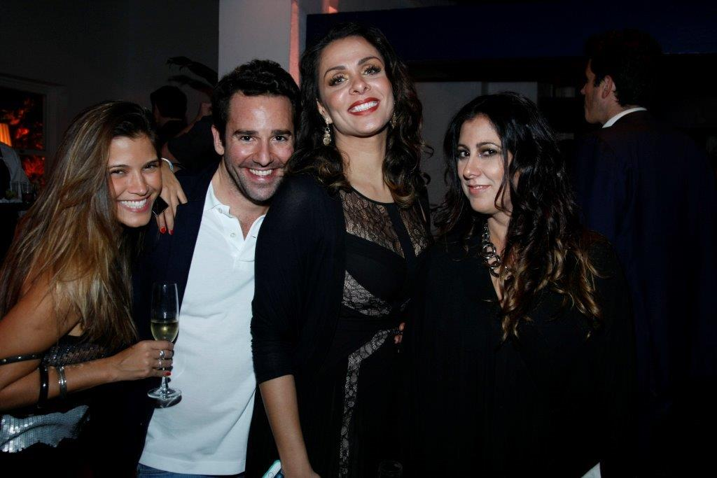 Carolina Pain, Thiago Senna, Vanessa Machado e Anna Leticia Coh...