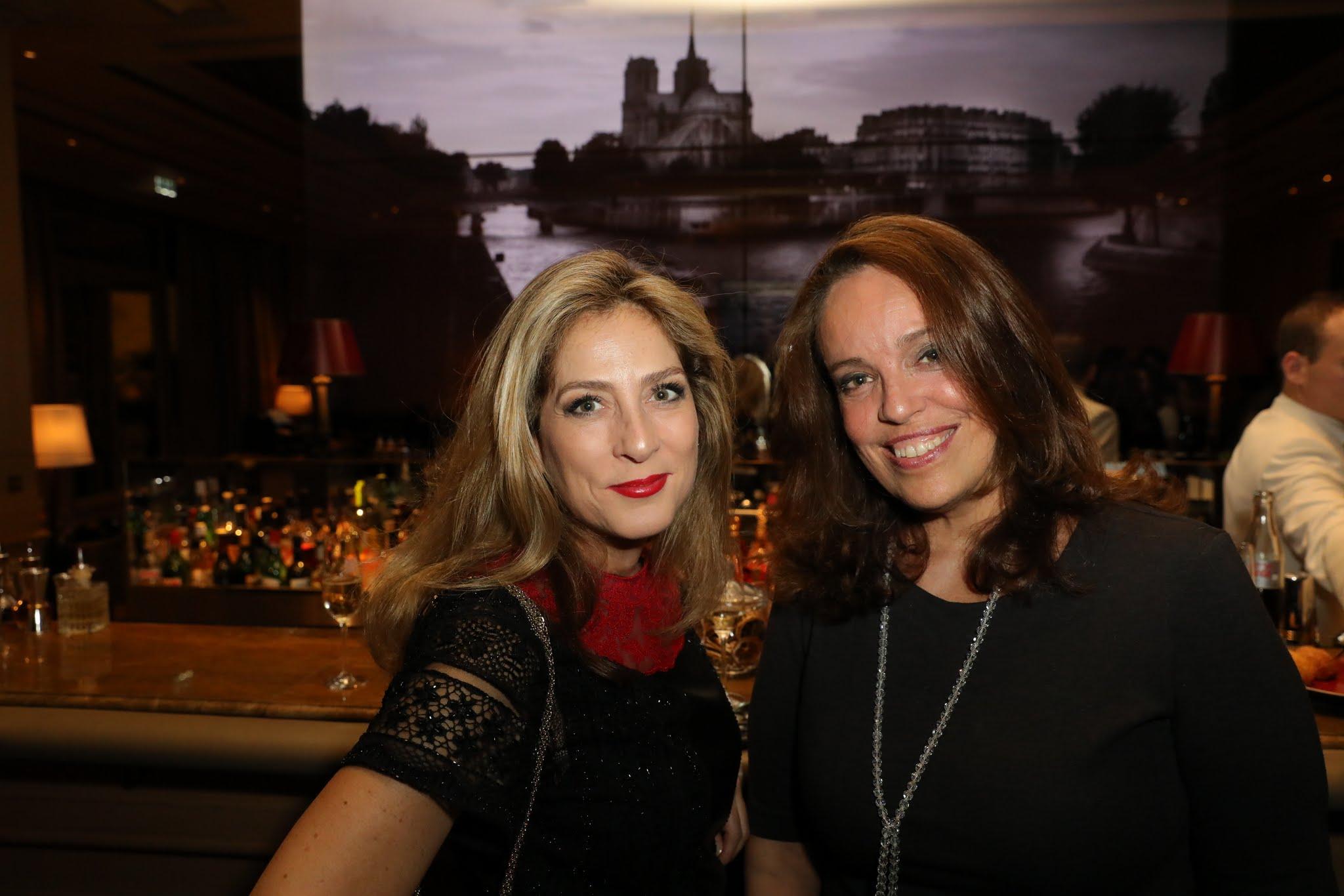 Lucila Matarazzo e Isabel Brossolete