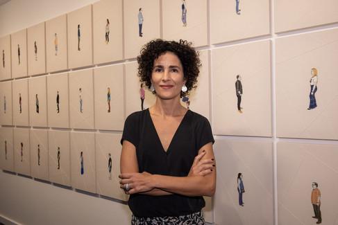 """Abertura da expo """"Conexões"""" na galeria Gaby Indio da Costa Arte Contemporânea"""