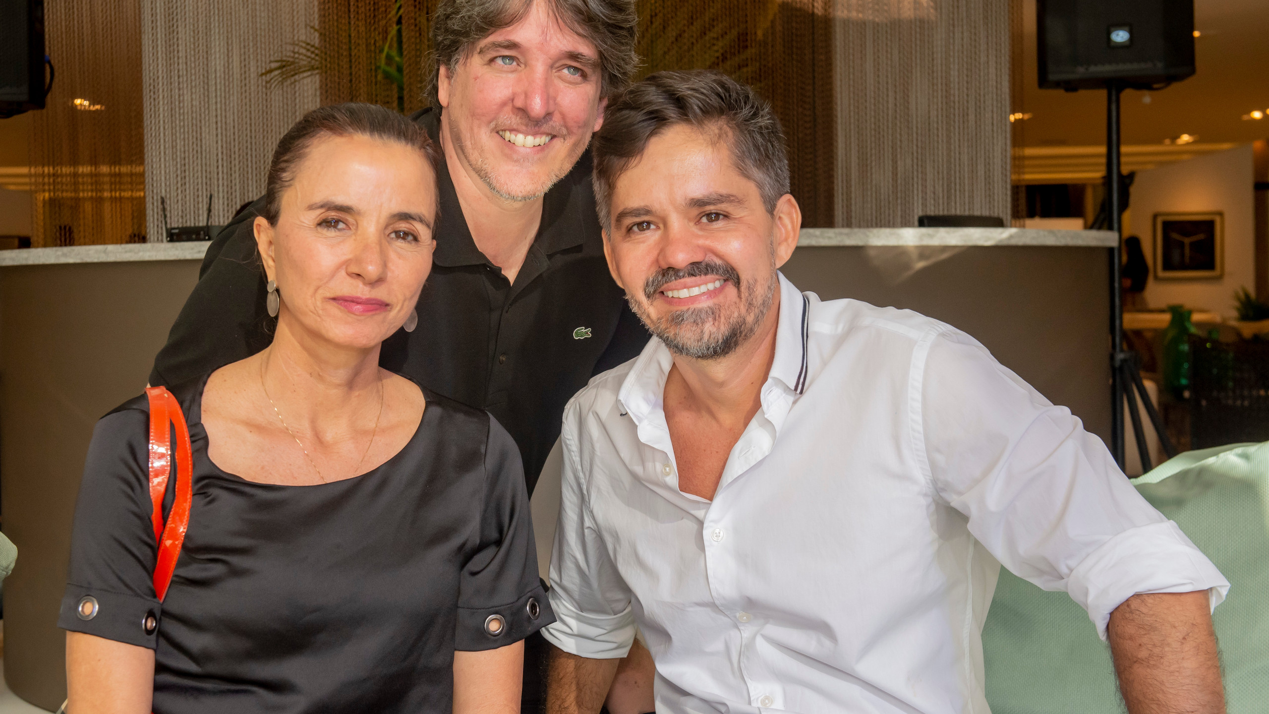 Vera Rebello, Guilherme Osborne, Ricardo