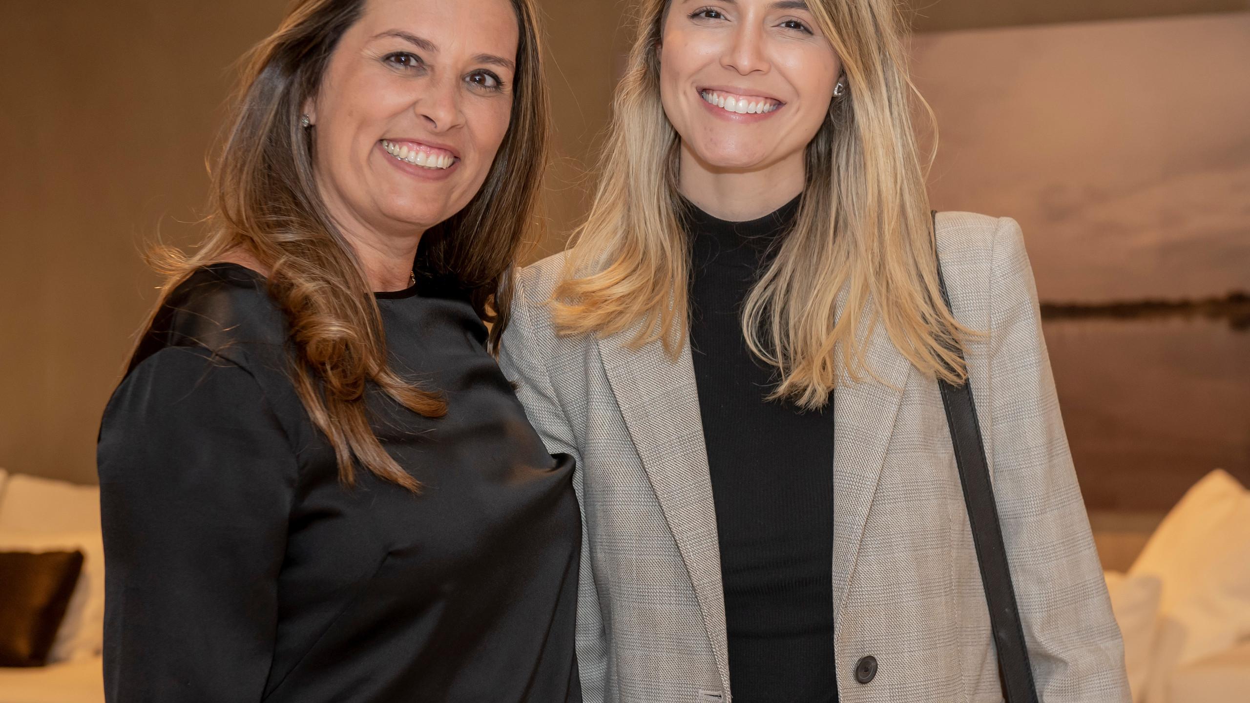 Aline Guimaraes Otero e Aline Celles