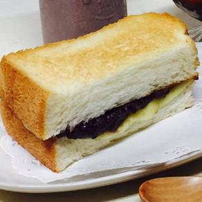 チーズあんトースト