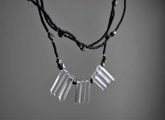 Ice and Stones Layered Necklace
