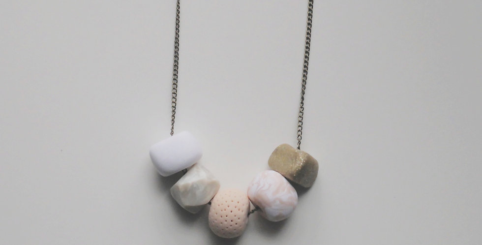 Bliss 5 Bead Necklace
