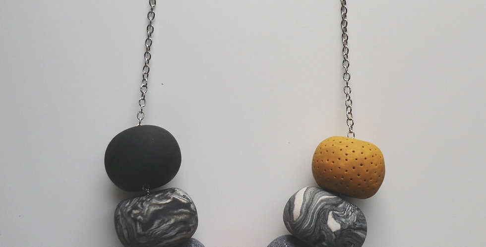 Autumn 7 Bead Necklace