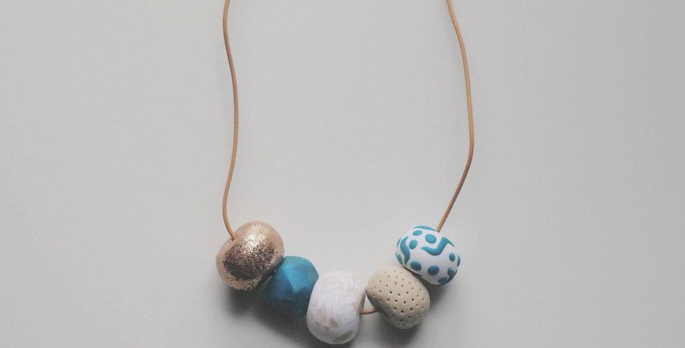 Dottie 5 Bead Necklace
