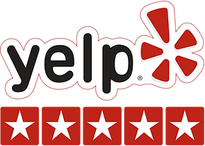 5 Star Rated Business On Yelp!