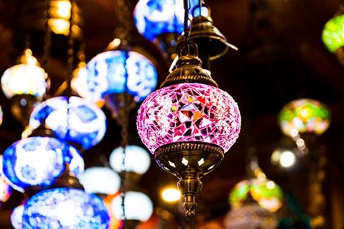 彩繪玻璃燈籠
