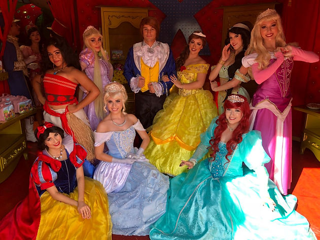 Princesas Disney - Hollywood Eventos e P
