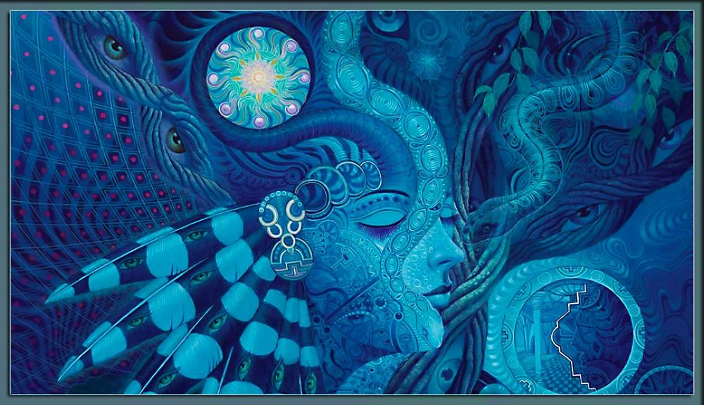 ayahuasca visions art