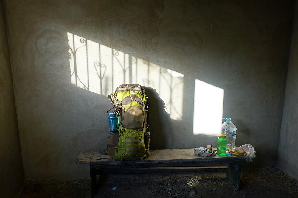backpacking in cabo de la vela
