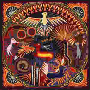 Traditional Huichol art