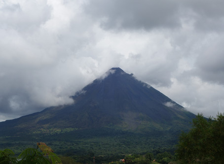 LEADING UP TO VULCÁN ARENAL