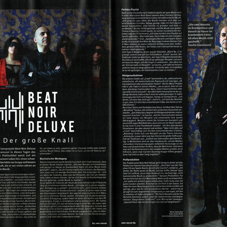 Interview in Sonic Seducer (05/2020)