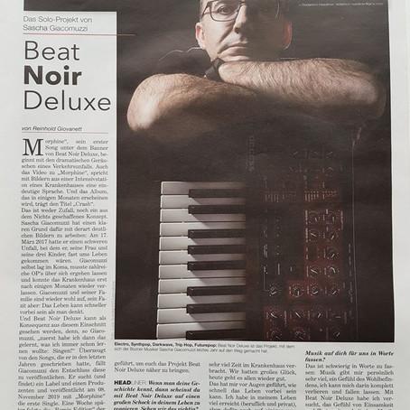 Interview Beat Noir Deluxe in Neue Südtiroler Tageszeitung 03/01/2020