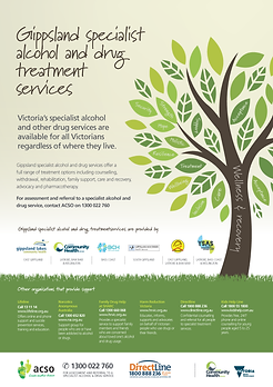 Gippsland Specialist Alcohol and Drug Treatment Sevice
