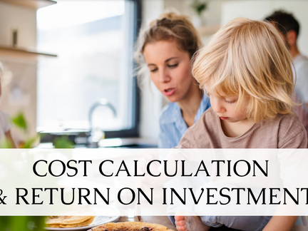 What is a likely return on investment on a Kangen water® machine for an average family of four?