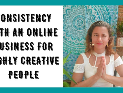 What does it take to be CONSISTENT with an online business?