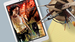 E-Book Cover Design of Requiem for the Dead