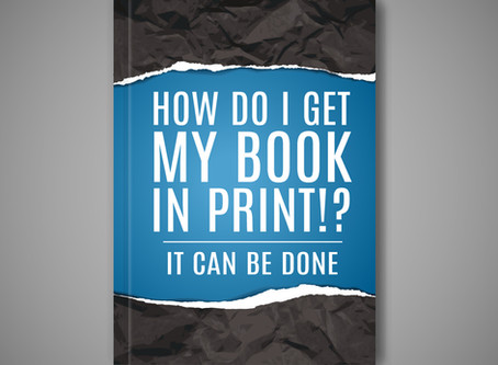 You have an ebook… now what? How do you get a print design?