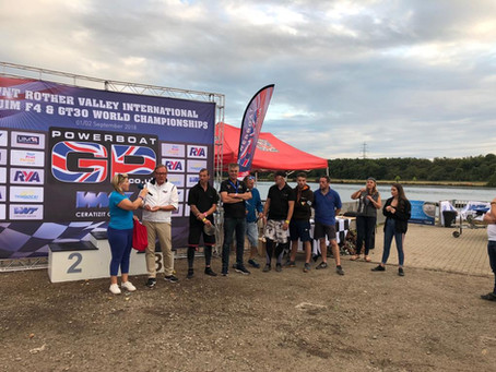 Ian Blacker of Team Kingfisher Wins Aquarius Inflatable Raceboat