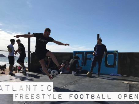 Atlantic Freestyle Football kicks off in Great Style at Fistral Beach