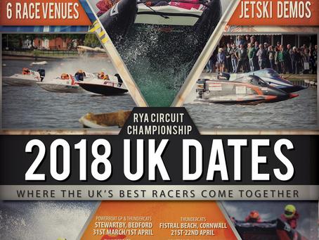 2018 ThunderCat Racing Calendar