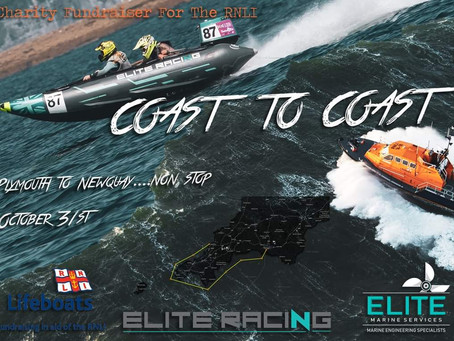 Support 'Coast to Coast' an RNLI Fundraiser
