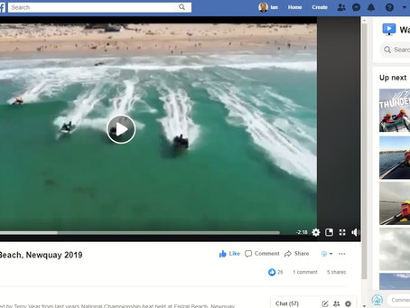 Video: ThunderCat Racing, Fistral Beach, Newquay 2019
