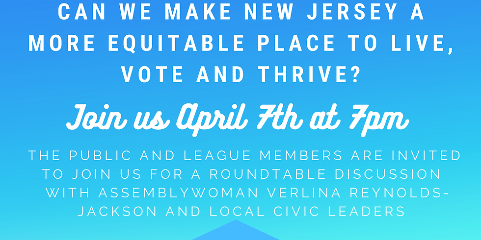 Can We Make New Jersey a More Equitable Place to Live, Vote and Thrive?