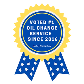 voted #1 oil change by the brattleboro r