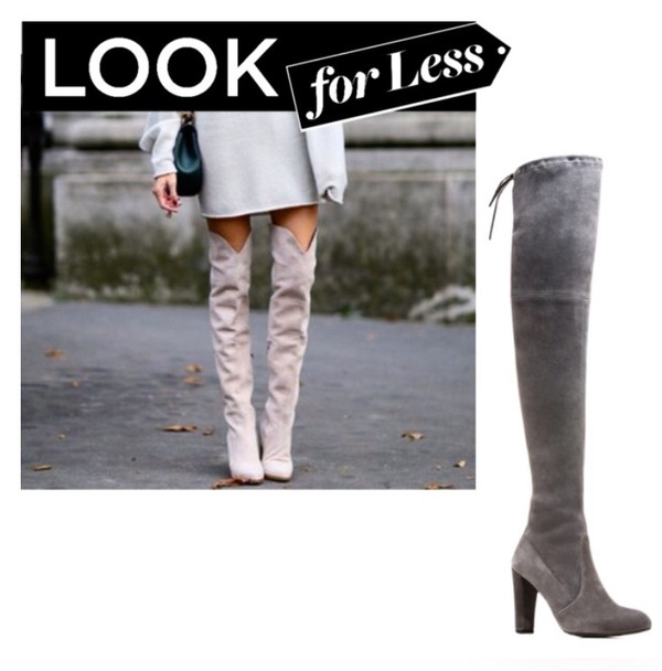 Trend Tuesday: Look for Less  Thigh High Baby