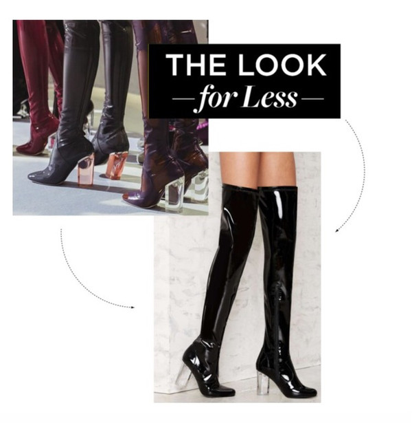 TREND TUESDAY: Dior Patent Leather Thigh Highs