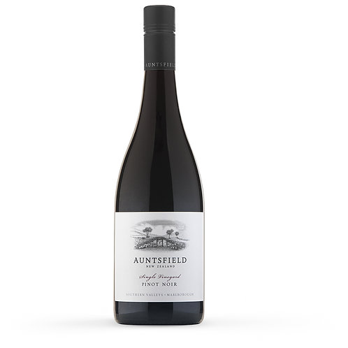 Auntsfield Pinot Noir, New Zealand - case of 6 bottles