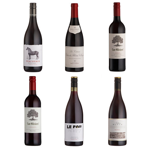 Everyday Red Favourites - case of 6 bottles