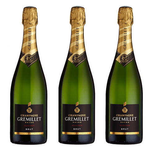 Champagne Gremillet Sélection Brut NV - 3 bottles