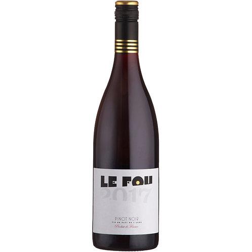 Le Fou Pinot Noir, Pays d'Oc, France 2019 - case of 6 bottle