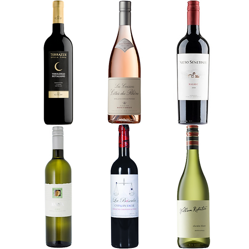 Spring Wine Lovers Selection - Mixed Case of 12 Bottles