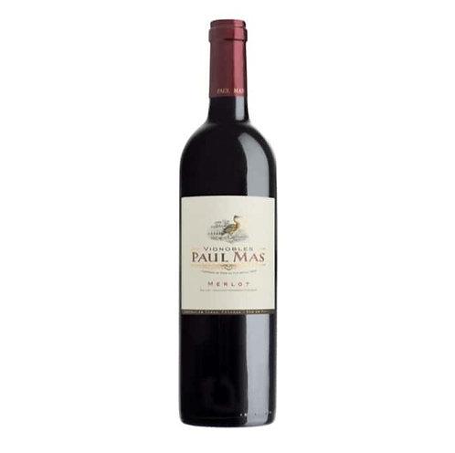 Paul Mas Merlot Pays d'Oc, France - case of 6 bottles