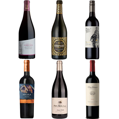 January Luxury Super Six Red Selection-  Case of 6 bottles