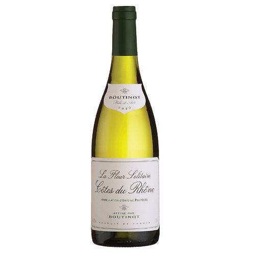 Boutinot 'La Fleur Solitaire', Côtes du Rhône Blanc, France - case of 6 bottles