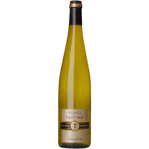 Cave de Turkheim Reserve Pinot Gris, Alsace, France 2018 - Case of 6 bottles
