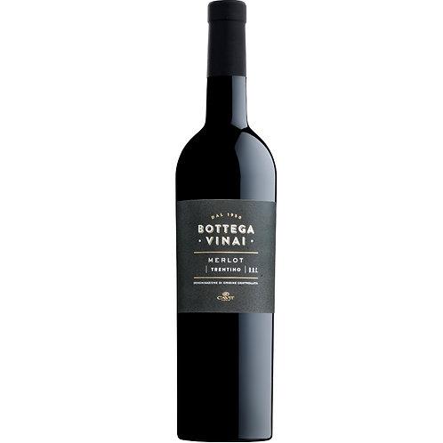 Bottega Vinai Trentino Merlot 2017, Italy - Case of 6 Bottles
