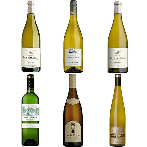 Taste of France - white mixed case of 6 bottles