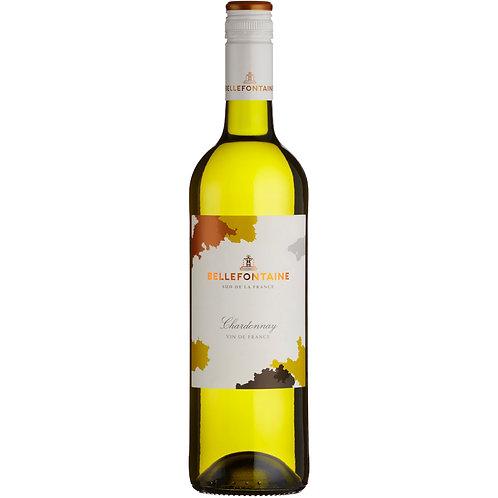 Bellefontaine (Unoaked) Chardonnay, Vin de France, 2019 - case of 6 bottles